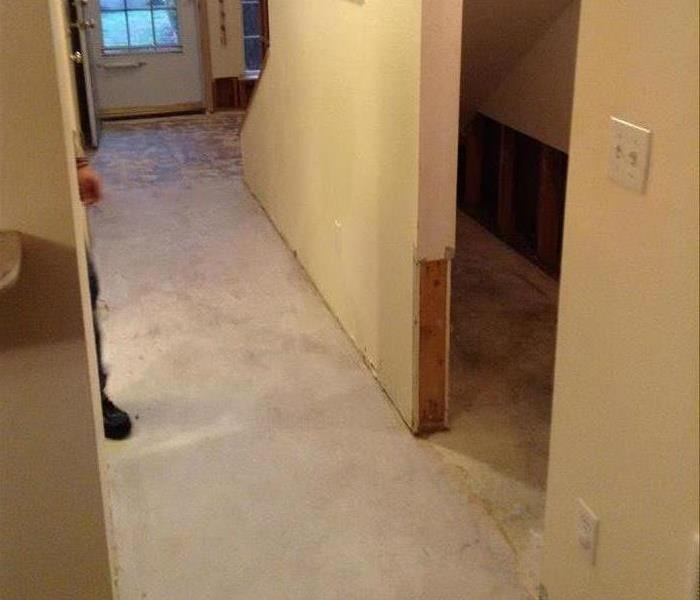 Water Damage in Lacey,  After
