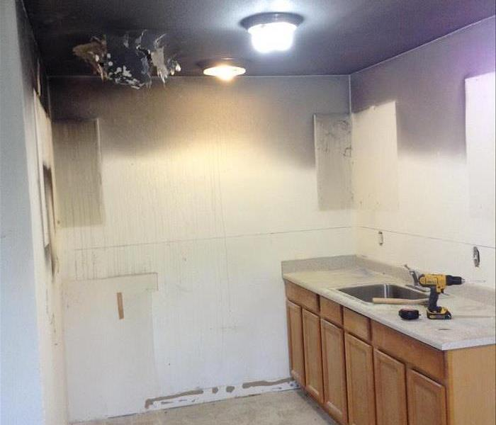 Kitchen Apartment Fire Before