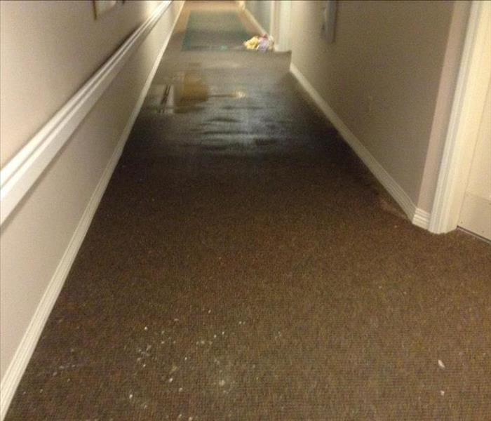 Pipe burst in Tacoma Senior Living Facility