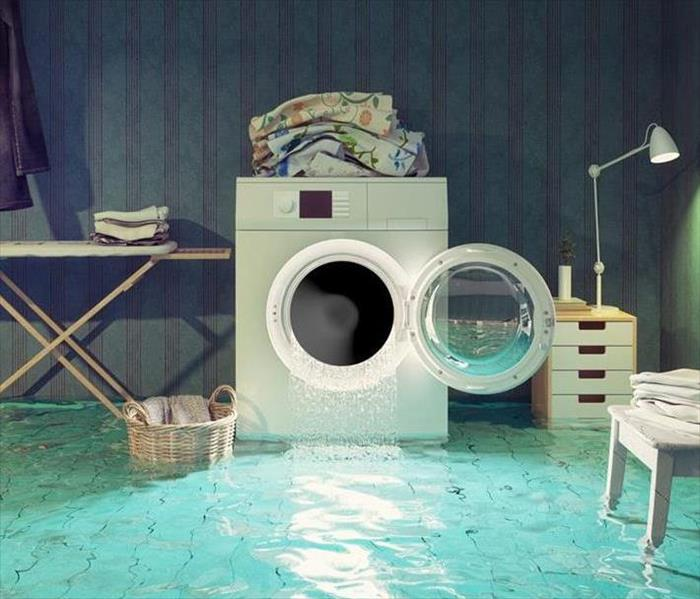 laundry room flood