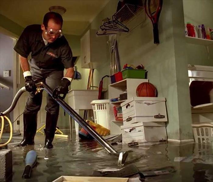 Storm Damage Tacoma Residents: We Specialize in Flooded Basement Cleanup and Restoration!