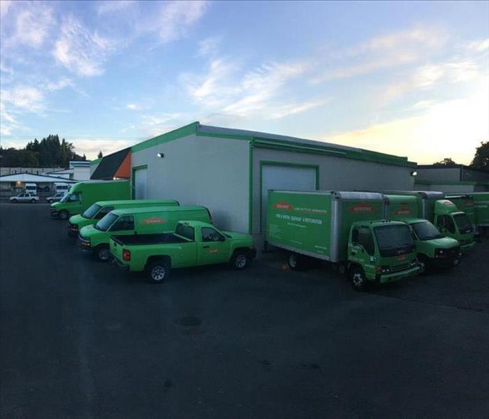 Why SERVPRO SERVPRO® of Tacoma is Faster to Any Size Disaster